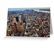 Manhattan Island Greeting Card