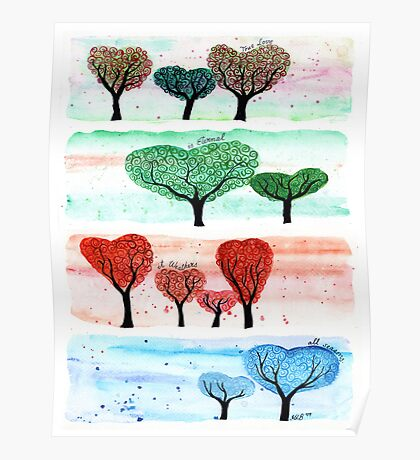 Love in Four Seasons Poster