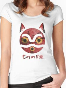 San Mask Women's Fitted Scoop T-Shirt