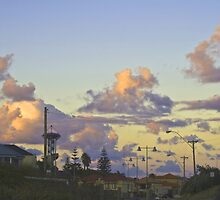 Urban Sunset by pennyswork