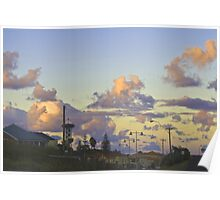 Urban Sunset Poster