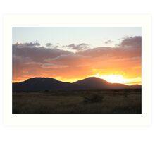 Bowen Sunsets Art Print
