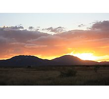 Bowen Sunsets Photographic Print