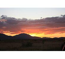 Sunsetting Bowen Photographic Print