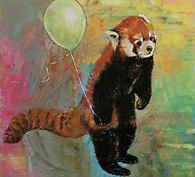 Red Panda by Michael Creese