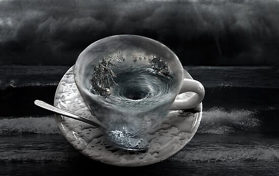 Storm In A Tea Cup by Gemma Burleigh