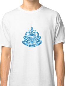 Zodiac Sign Aquarius Blue Classic T-Shirt