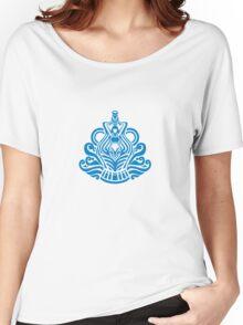 Zodiac Sign Aquarius Blue Women's Relaxed Fit T-Shirt