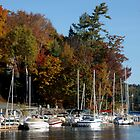 Boats in Sunapee Harbor by brooke1429