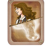 Hermione Granger Playing Card Photographic Print