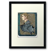 Remus Lupin Playing Card Framed Print