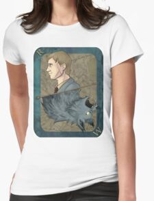 Remus Lupin Playing Card Womens Fitted T-Shirt