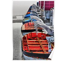 Queen Mary Life Boats Poster