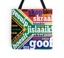 South African slang and colloquialisms  Tote Bag