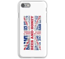 Union Jack, Cockney Rhyming Slang iPhone Case/Skin
