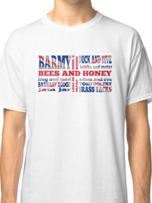 Union Jack, Cockney Rhyming Slang Classic T-Shirt