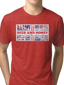 Union Jack, Cockney Rhyming Slang Tri-blend T-Shirt