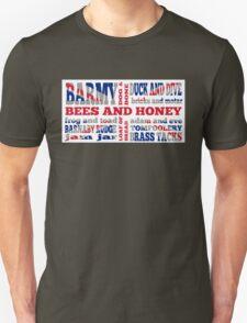 Union Jack, Cockney Rhyming Slang T-Shirt