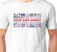 Union Jack, Cockney Rhyming Slang Unisex T-Shirt