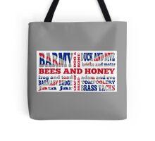 Union Jack, Cockney Rhyming Slang Tote Bag