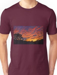 """Burning Sky"" Unisex T-Shirt"