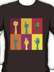 pop art hands T-Shirt