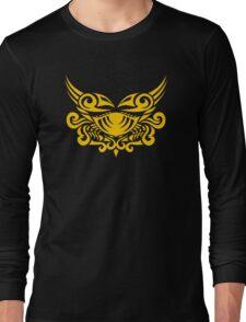 Zodiac Sign Cancer Gold Long Sleeve T-Shirt
