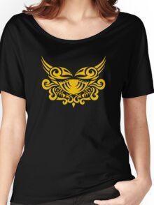 Zodiac Sign Cancer Gold Women's Relaxed Fit T-Shirt