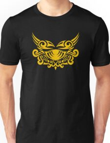 Zodiac Sign Cancer Gold Unisex T-Shirt