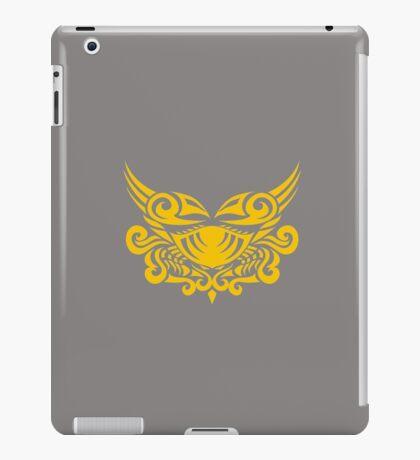 Zodiac Sign Cancer Gold iPad Case/Skin