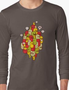 The Slang-abstrack Long Sleeve T-Shirt