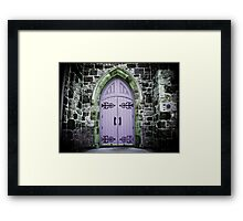 Welcome Framed Print