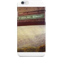 Sunset at Findlay Street iPhone Case/Skin