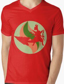 Mega Charm Mega Sceptile Mens V-Neck T-Shirt