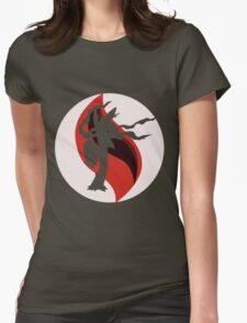 Mega Charm Mega Blaziken Womens Fitted T-Shirt