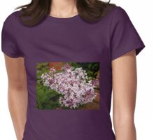 Pretty Pink Blossoms Womens Fitted T-Shirt