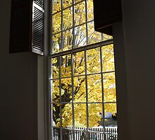 Fall at the Friends Meetinghouse by AntonLee