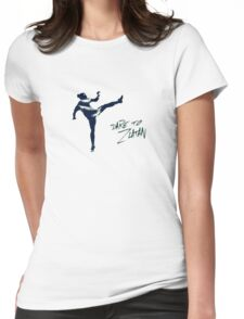 DARE TO ZLATAN 4 Womens Fitted T-Shirt