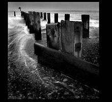 Lowestoft Sea Defences by Pagwag