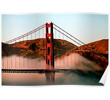 The Bridge and Marin Headlands Poster