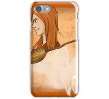 Ginny Weasley Playing Card iPhone Case/Skin