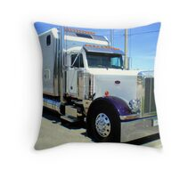 2000 Peterbilt Throw Pillow