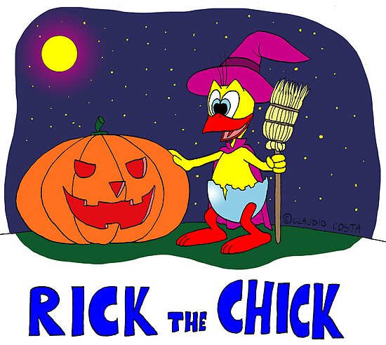 """Rick the chick """"HALLOWEEN"""" by CLAUDIO COSTA"""