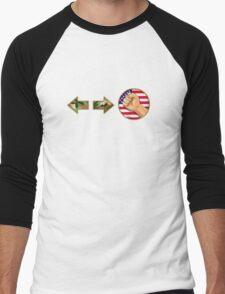 sonic boom - Guile Men's Baseball ¾ T-Shirt