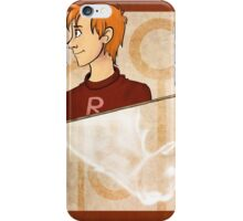 Ron Weasley Playing Card iPhone Case/Skin