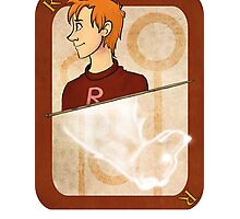 Ron Weasley Playing Card Photographic Print
