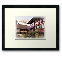 Stammheim House Framed Print