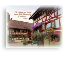 Stammheim House Canvas Print