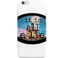 A Castle Built Out of Lies. iPhone Case/Skin
