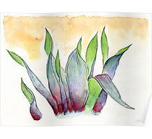 garbage tulips Poster
